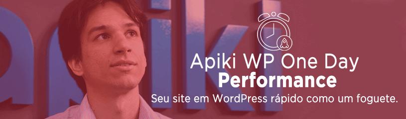 Imagem de apresentação do Apiki WP One Day Performance