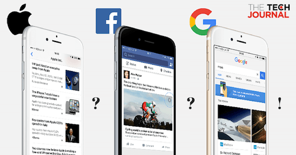 Apple News vs Facebook Instant Article x Accelerated Mobile Pages