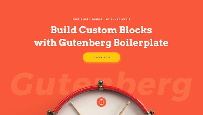 Boilerplate para o Gutenberg