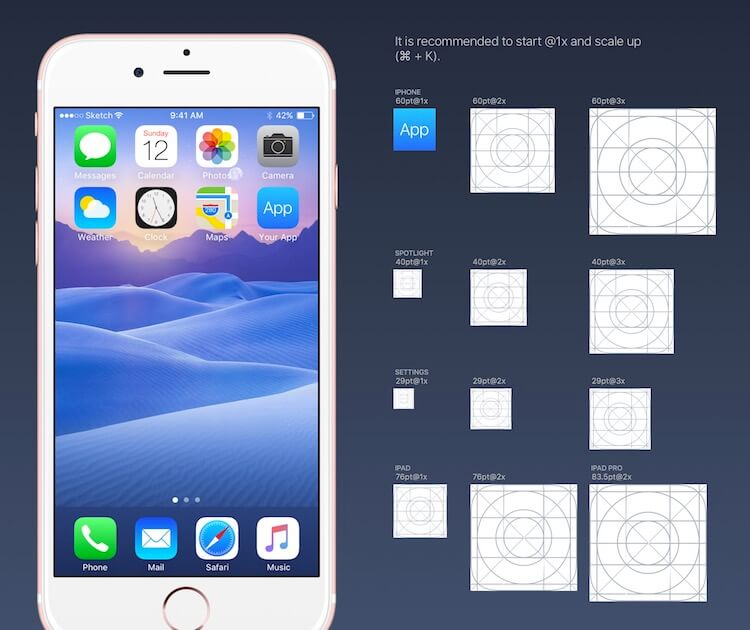 Design de ícones para App