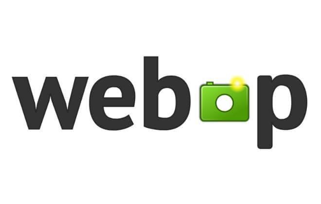 Logo do formato de imagem WebP